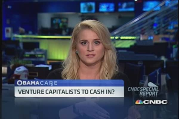 Venture capitalist cash in on Obamacare?