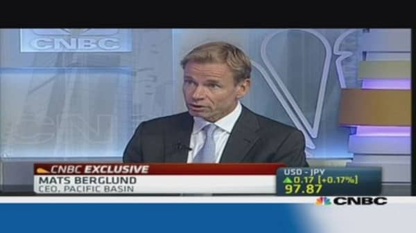 Pacific Basin CEO: Shipping demand to remain firm