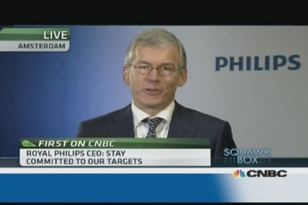 US healtcare reform a 'temporary distraction': Philips CEO