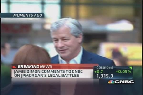 'I'm so damn proud of this company': JPM's Dimon