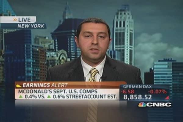 McDonald's 'Mighty Wings' fail to lift stock