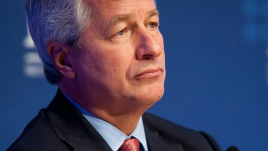 Jamie Dimon, chairman, president and chief executive officer of JPMorgan Chase & Co.