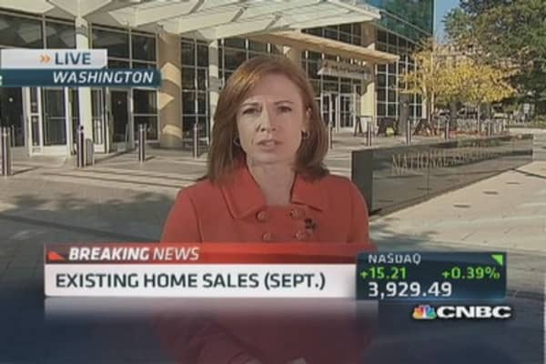 Existing home sales in Sept. down 1.9%