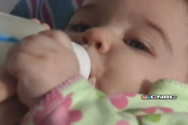 Online breast milk may put babies at risk