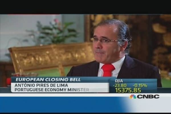 Portugal still committed to Troika's goals: Minister