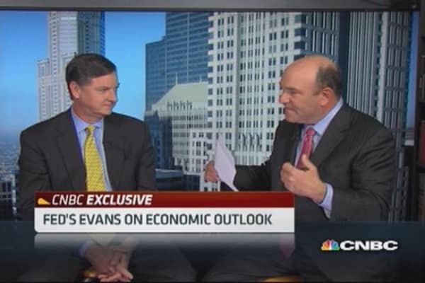 Fed's Evans: Friedman would encourage more QE
