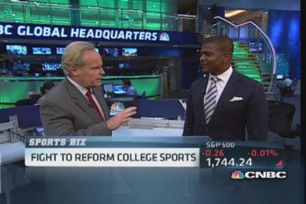Treatment of college athletes 'Un-American': Pro