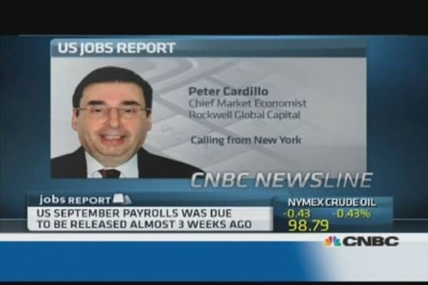 What will US jobs data show?