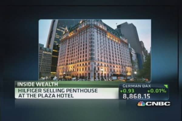 Tommy Hilfiger selling Plaza Hotel penthouse
