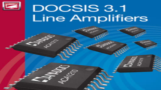 ANADIGICS DOCSIS 3.1 Line Amplifier Family