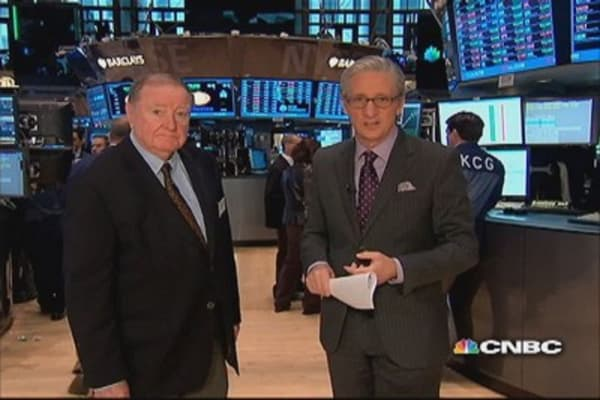 Art Cashin: Investors 'harvest a little momentum'