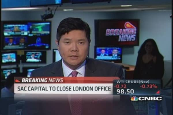 SAC Capital to close its London office