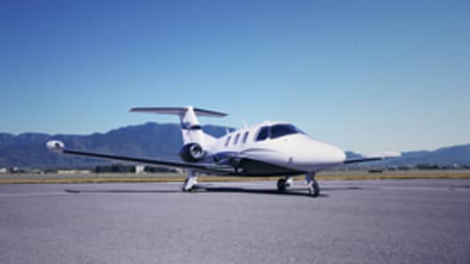 The Eclipse 550 Jet