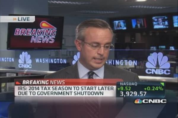 IRS: 2014 tax season to start late