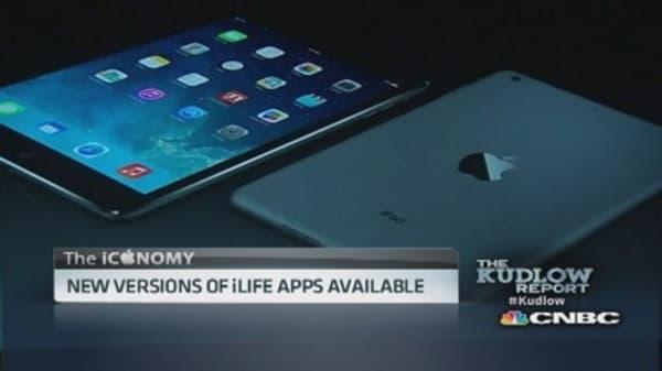 Apple unveils new 'iPad Air'