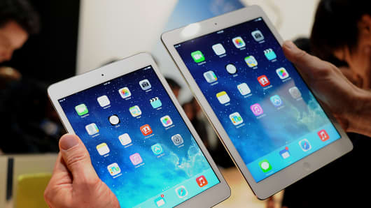 Apple's iPad Mini and iPad Air
