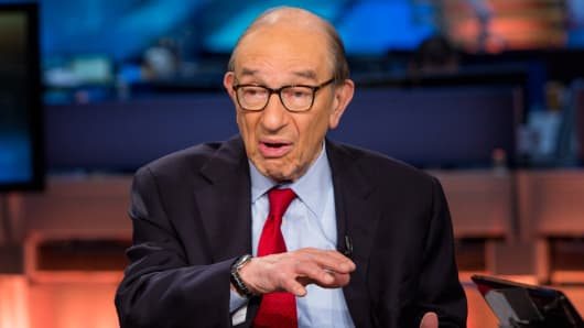Alan Greenspan, former Federal Reserve chairman