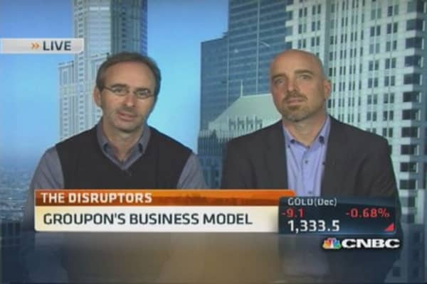 Groupon CEO on the power of mobile