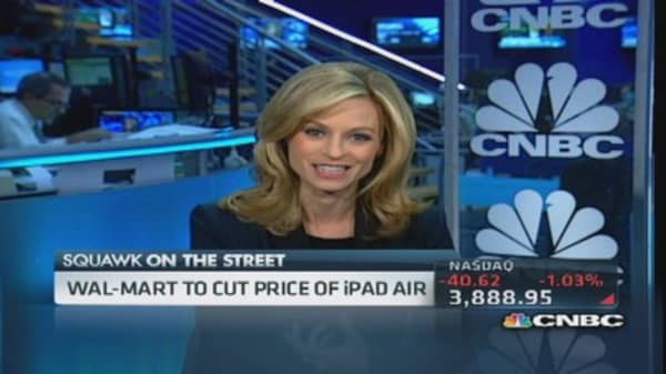 Wal-Mart launches iPad trade-in program