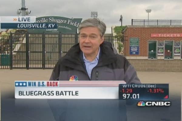 Bluegrass battle looms for Sen. McConnell