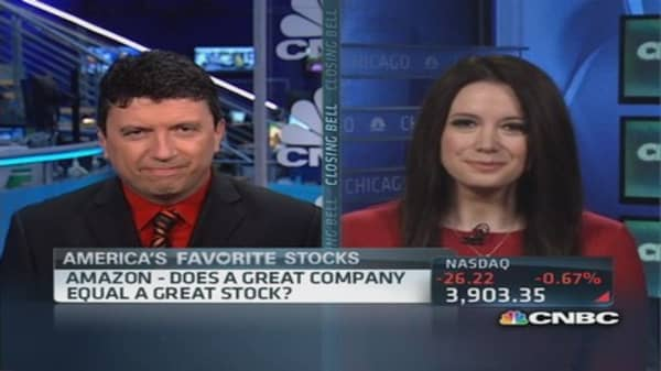 Does a great company equal a great stock?