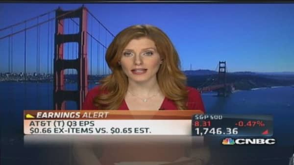 AT&T reports Q3 earnings
