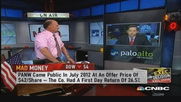 Palo Alto Networks' market opportunity