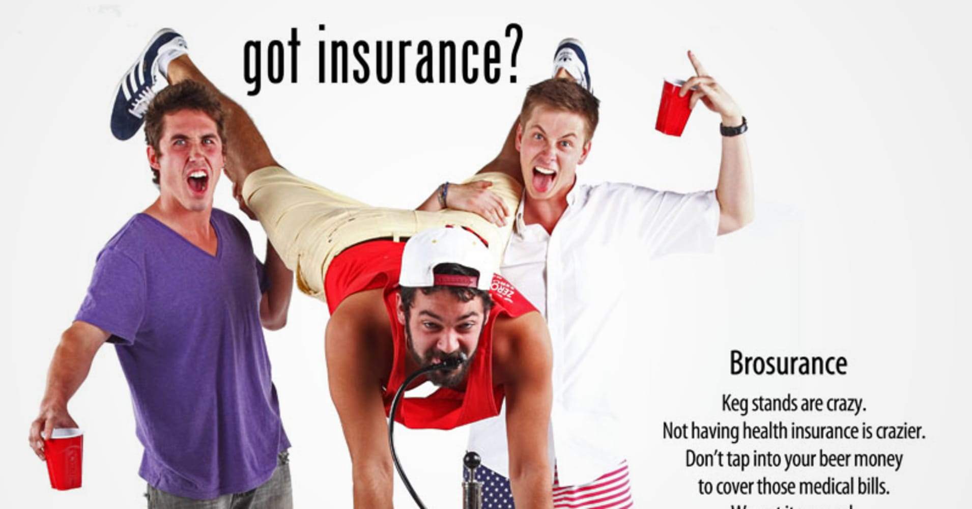 39 brosurance 39 ads go viral but will young men buy obamacare for Spiegel young money etf