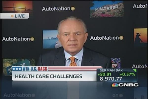 AutoNation CEO: 'New low of dysfunction' in DC