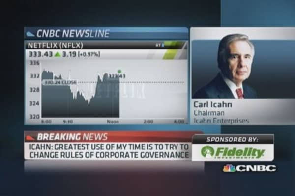 Carl Icahn reveals what led him to sell Netflix
