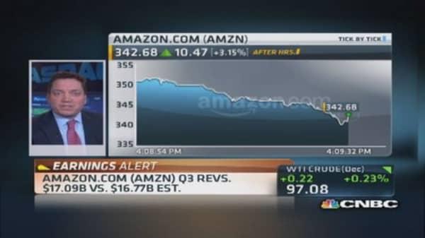 Amazon reports 'solid' revenues
