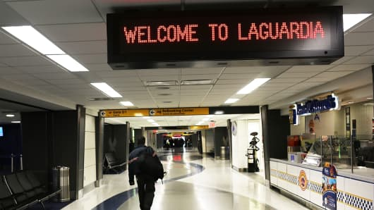 LaGuardia Airport in New York