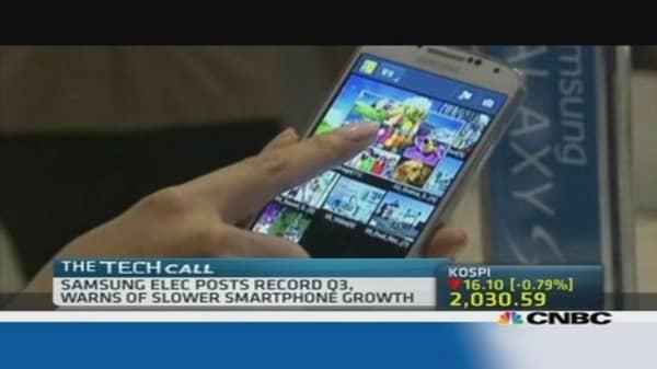 Samsung Electronics posts record Q3 profits