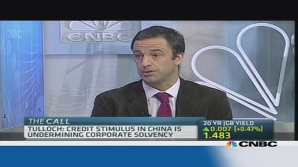 China to hit recession if credit slows: Expert