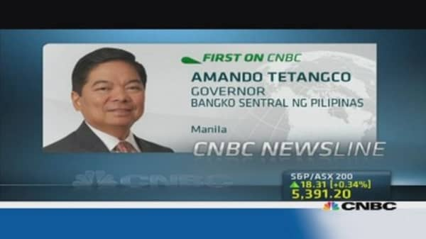 Philippines central bank chief: No capital controls