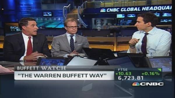 Doing it the Buffett way