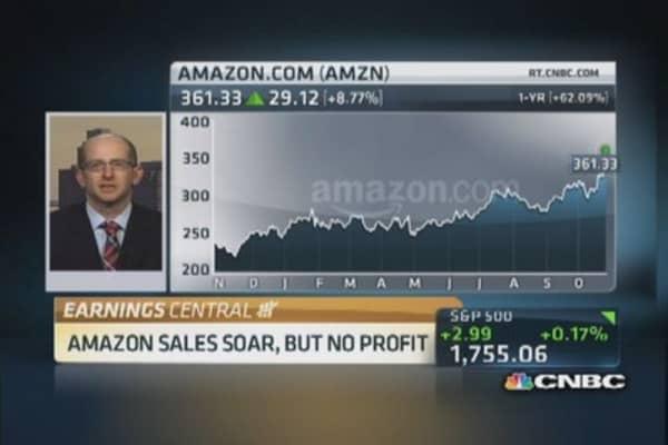 Amazon shares soar on Q3 beat