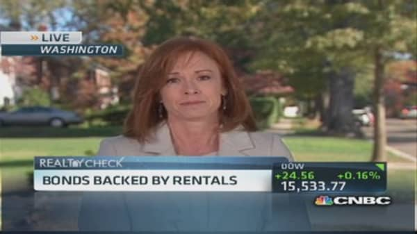 Bonds backed by rentals