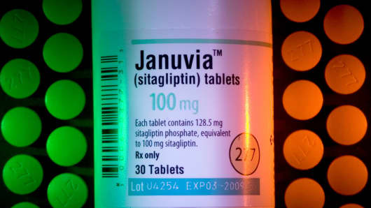 Merck & Co. diabetes treatment Januvia.