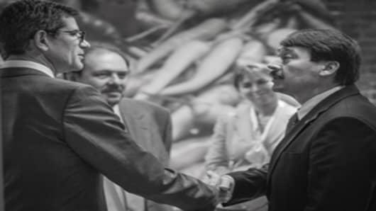 Hungarian presidential visit