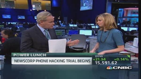 News Corp phone hacking trial underway