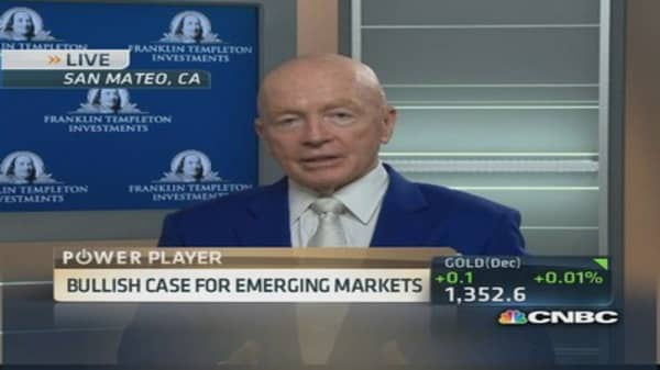 Dollar value is very high: Mark Mobius
