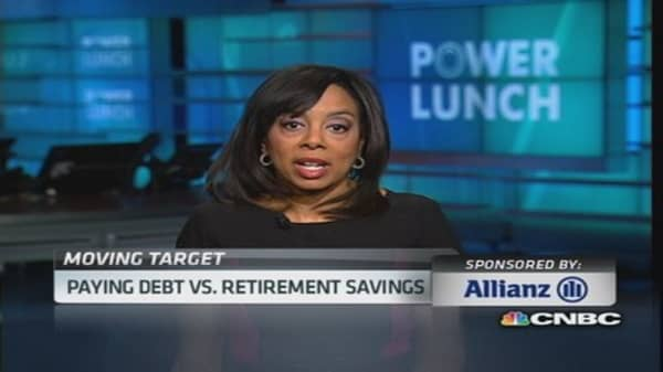 Debt vs retirement