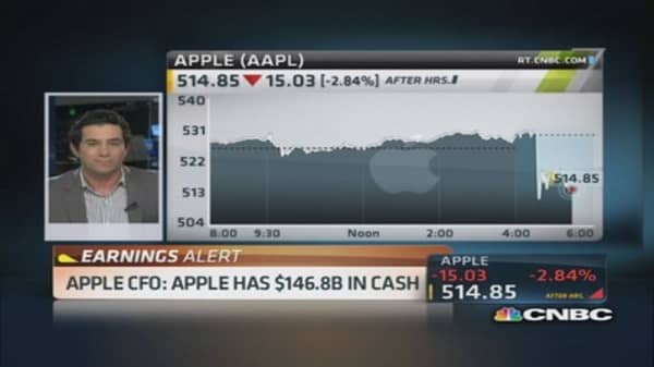 Apple CFO: Fastest software upgrade ever