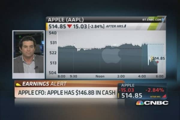 Apple CFO: Fastest software upgrade ever