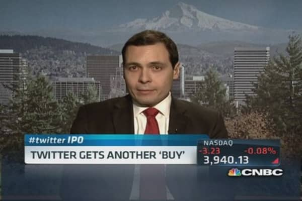 Twitter gets another 'buy'