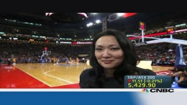 NBA dominates US sports in China