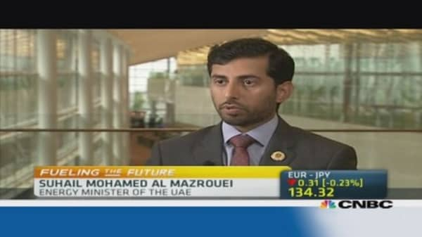 UAE energy minister: Oil market is well supplied