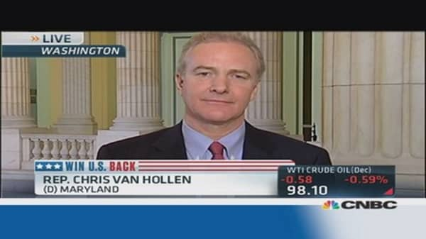 Obamacare problems 'unacceptable': Rep. Van Hollen