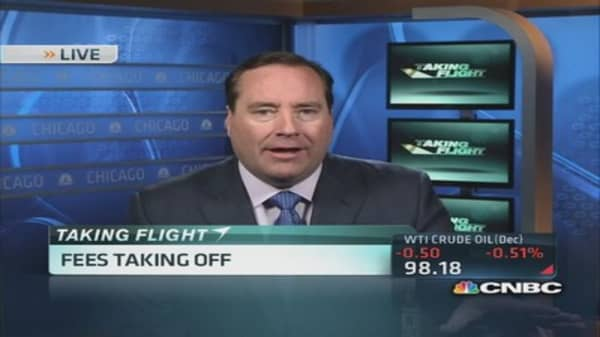Airline fees taking off